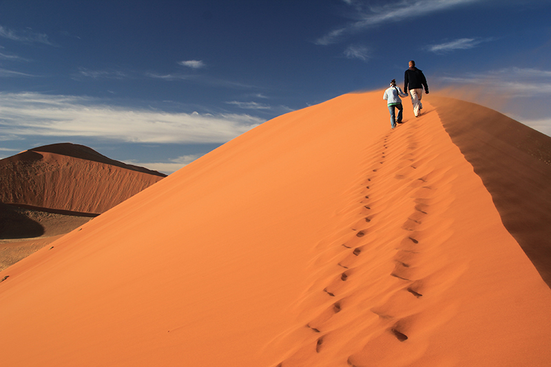 Namíbia, repaginação e atualização de roteiros