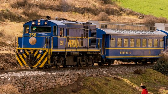 PeruRail altera operação entre Cusco e Ollantaytambo
