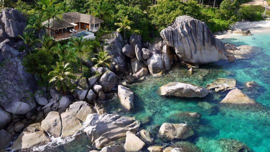 Baixe a arte personalizável da promoção do Six Senses Seychelles